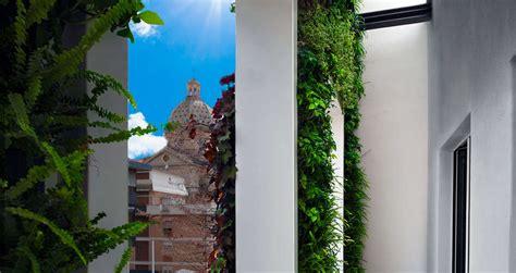 giardini verticali roma giardini verticali per beldes hotel roma