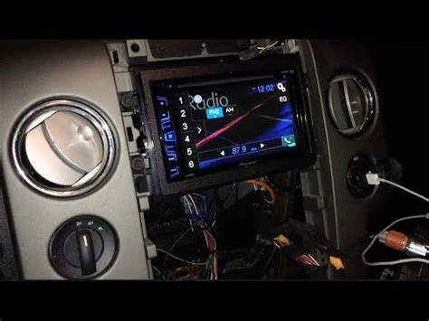 lincoln mark lt ford   stereo install