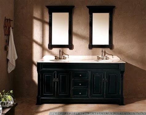 Bathroom With Black Vanity Bathroom Designs Bathroom Vanities Lowes Black Vanity Table Two Mirrors White Wash Basin White