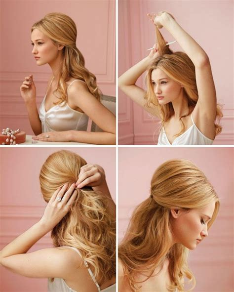 do it yourself hairstyles for fine hair 15 stylish half up half down tutorials pretty designs