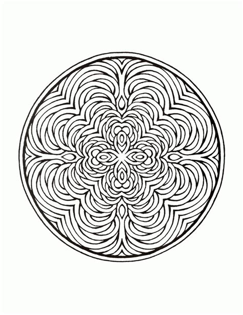 intricate mandala coloring pages intricate mandala coloring pages az coloring pages