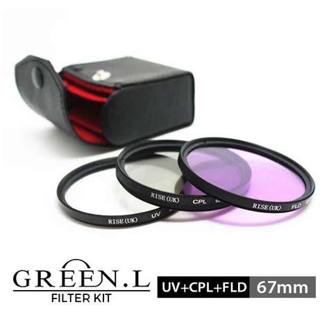 jual green l filter uv cpl fld kit 67mm harga dan