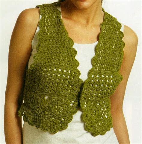 patrones de tejido gratis chaleco tejido en redondo patrones de tejido gratis chaleco de encaje
