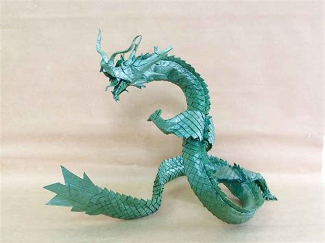 Origami Ryujin - 18 eastern style origami dragons origami me