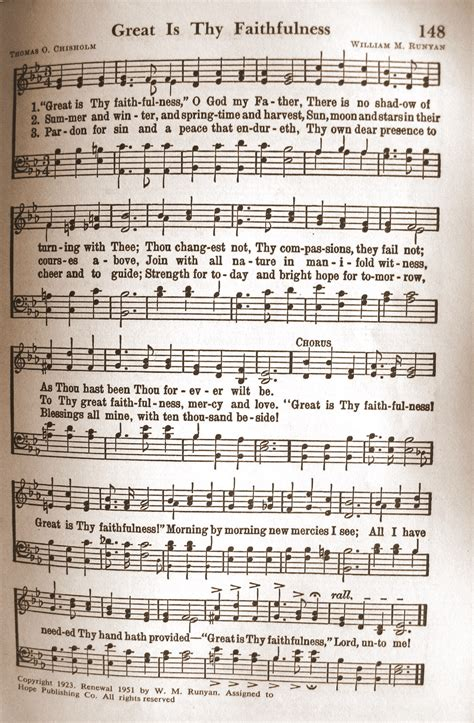 printable lyrics to great is thy faithfulness hymns and musical instruments lyndeutsch