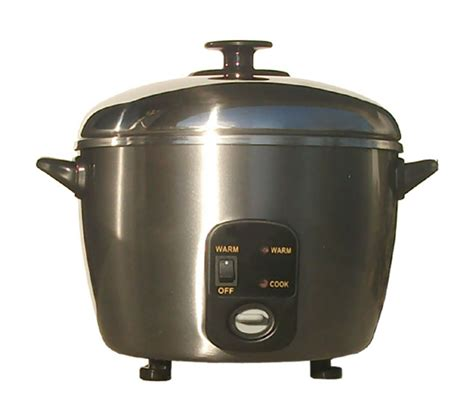 Rice Cooker Stainless 6 cups stainless steel rice cooker steamer pots and