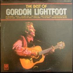Cd And Gordon The Best Of gordon lightfoot the best of gordon lightfoot records lps