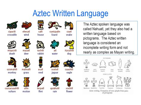 written language 3 26 aim how were the mayans and aztecs similar
