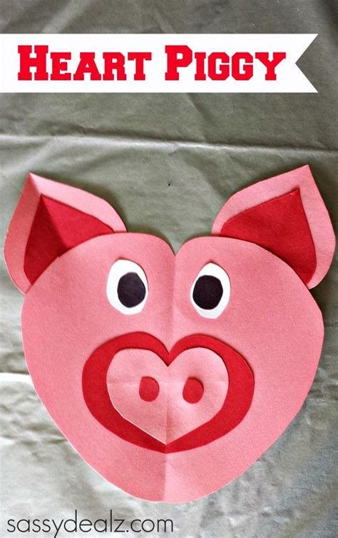 printable valentine animal crafts valentine s day heart shaped animal crafts for kids