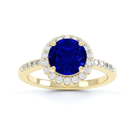 Yellow Sapphire 2 1ct eternity 1ct sapphire and halo 18ct yellow gold