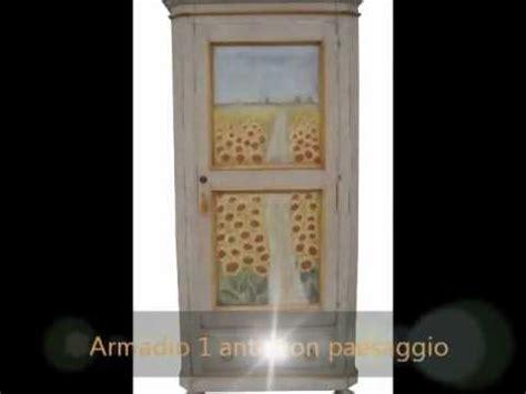 dipingere ante armadio mobili dipinti laccati e decorati armadio 1 porta dipinto