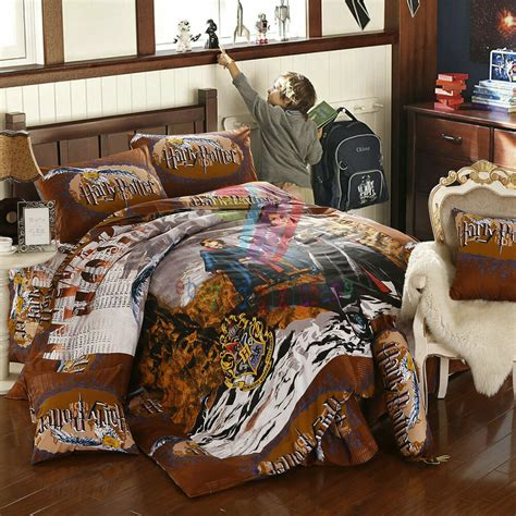 harry potter bedding comforter new harry potter 8pcs size comforter in a bag free shipping ebay