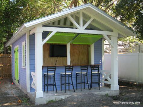 hometalk custom snack shack shed