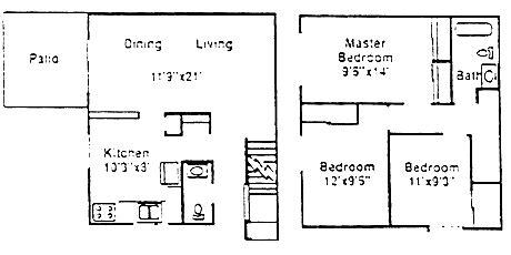 Foxfire Apartments Townhomes Jackson Mi Foxfire Apartments Townhomes Rentals Jackson Mi