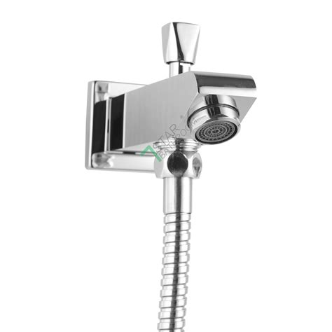 bathtub faucet with handheld shower diverter brass square spa bath diverter spout w handheld shower 1