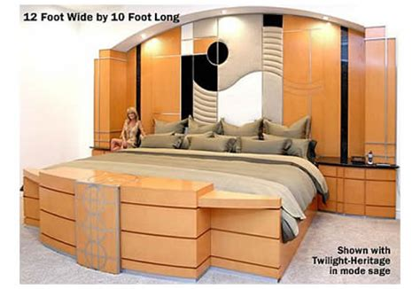 what is the biggest bed size extreme ultraking bed is the largest