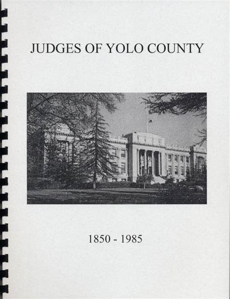 Yolo County Court Records Yolo County And Superior Court