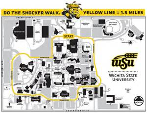 Wichita State Campus Map by Wichita State To Celebrate Fitness Open New Public