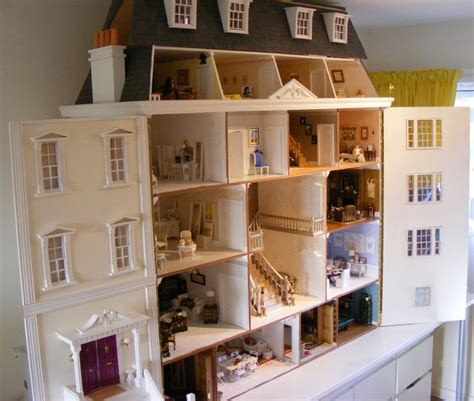 luxury dolls house furniture my grand georgian dolls house by jazz dolls houses past present