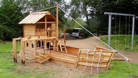 Tipps Zur Gartengestaltung 2386 gro 223 es piratenschiff tansania 9m langer spieltraum f 252 r