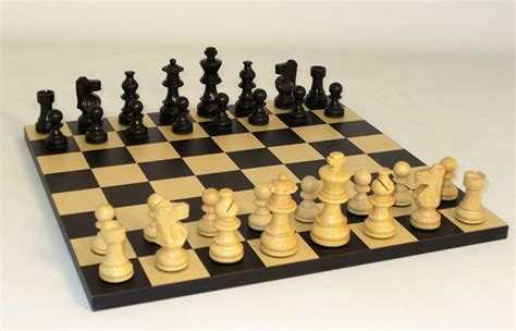 chess set ebony lardy staunton chess set