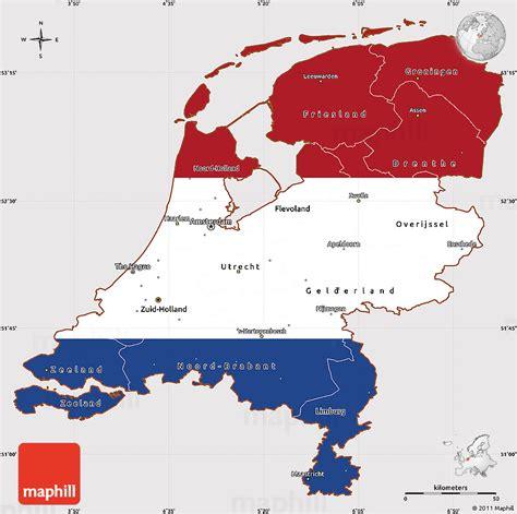 netherlands map and flag flag simple map of netherlands flag centered