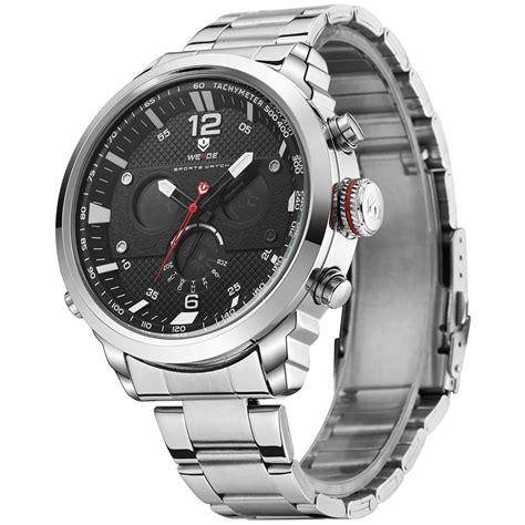 Review Jam Tangan Invicta weide jam tangan analog stainless steel wh6303 silver black jakartanotebook