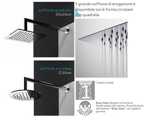 pulire doccia calcare doccia nera calcare vetri brillanti