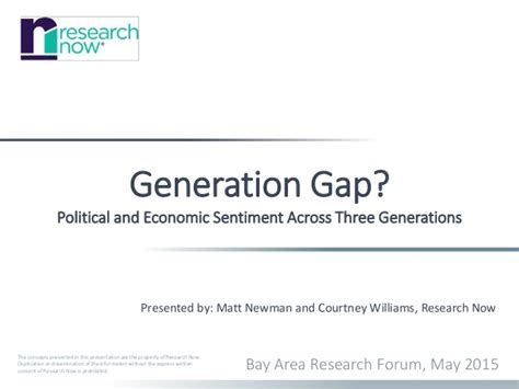 generation gap political and economic sentiment across