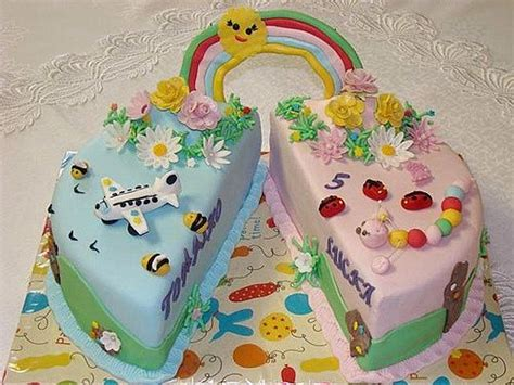 birthday themes for boy and girl boy girl twin party ideas twins boy girl cake party