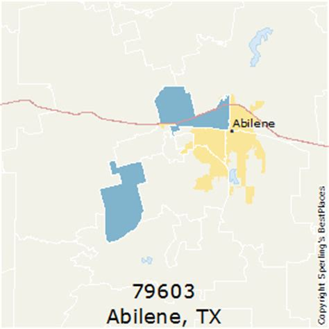 abilene texas zip code map best places to live in abilene zip 79603 texas