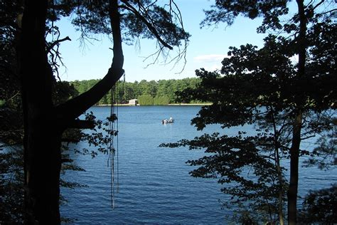boating in boston lake cochituate take the t to these five local swimming holes boston