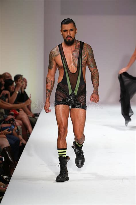 Detox Marco Marco by Extraordinaire Boomer Banks Walks The Runway At The