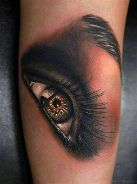 eyeshadow tattoo 61 mind blowing eye tattoos on arm