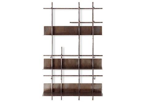 Wall Shelf System by Navigli Gallotti Radice Wall Shelving System Milia Shop