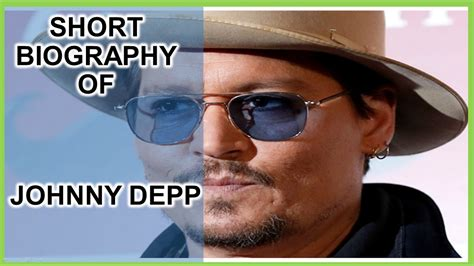 johnny depp mini biography short biography of johnny depp youtube