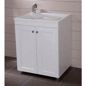 st paul 27 inch x 32 inch laundry base cabinet in white