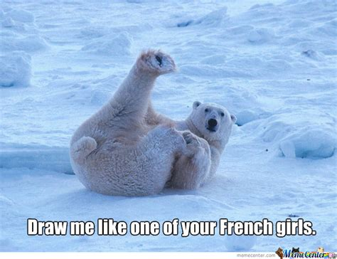 Dancing Polar Bear Meme - polar bear posing by cbsman meme center