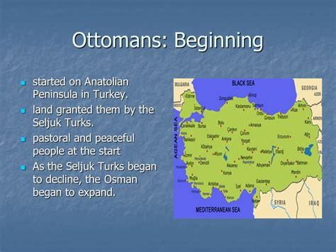 ottoman empire beginning the muslim empires the ottoman empire ppt video online