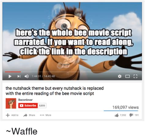 Bee Movie Script Meme - funny bee movie script memes of 2017 on sizzle the bees