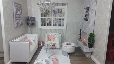 american room tour diy american doll living room tour and set up