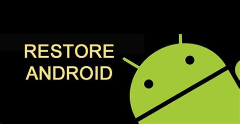 reset android mobile data usage ultimate guide to restore android phone