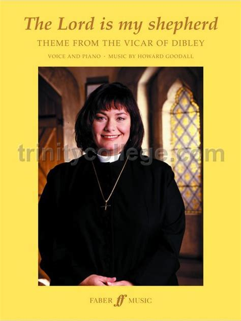 theme music vicar of dibley goodall howard vicar of dibley theme psalm 23 the lord