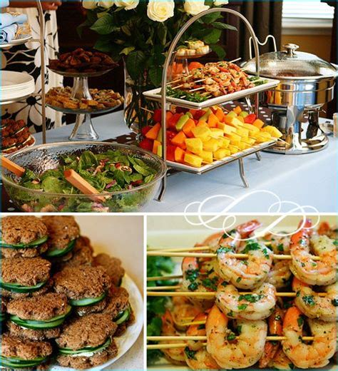 recipes for bridal shower luncheon 25 b 228 sta sandwich buffet id 233 erna p 229 baby shower brunch och croissant sandwich