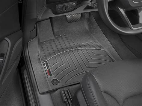 weathertech floor mats floorliner for audi q7 2017