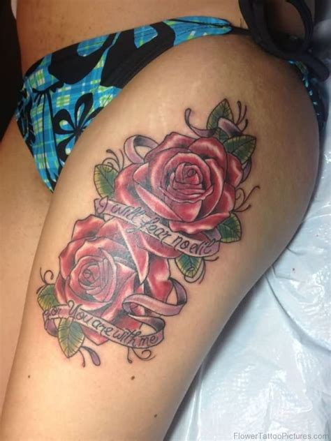 rose tattoo font 68 phenomenal tattoos on thigh