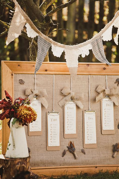 rustic themed wedding seating plan unique creative seating chart ideas olive studio