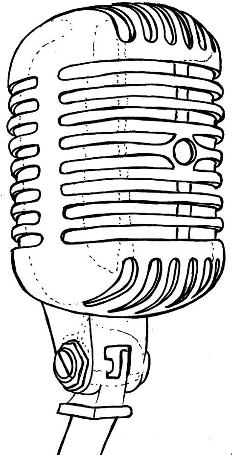 old school microphone tattoo designs vintage school retro can microphone by