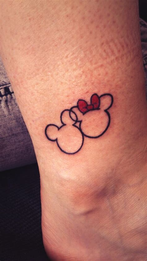 mickey and minnie mouse tattoos cool tattoos designs