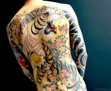 tiger back tattoo 60 tiger tattoos for back
